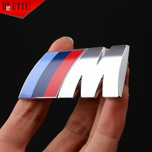 M Car Styling ABS Car Racing Decal Wrap Sticker 3D Adhesive Printing Label Aufkleber Waterproof Car Cover MINI Car Accessories