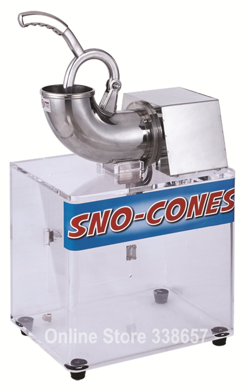 commercial restaurant electric ice crusher ice shaving machine snow cone maker mainland - Commercial Snow Cone Machine