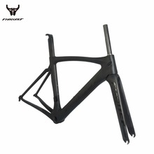 Buy 2017 Hot sale bicycle frame carbon road bike Super Light Di2 matt/glossy Carbon Road Bicycles free carbon fibre frame for $389.03 in AliExpress store