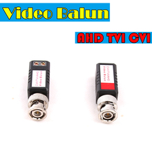 CCTV Twisted BNC 1Channel Passive TVI CVI AHD Video Balun Transceiver  COAX CAT5 Camera UTP Cable Coaxial Adapter