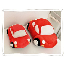 1pc 35/45cm Cute Comfortable Baby Red Stuffed Car Shape Dolls Plush Toys Soft Baby Kids Pillow Toy Gift