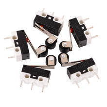 5pcs Mini Micro Limit Switch Roller Lever Arm Microswitch SPDT Sub Miniature 1A 125V AC(China)