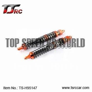 Baja metal parts ,New - 6mm Shock Absorber - Rear - Orange, silver, titanium(TS-H95147)+Free shipping!!!<br><br>Aliexpress