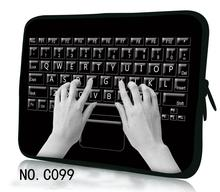 "Black Keyboard Personality Computer Bag For 12"",13"",14"" ,15"" &17"" Inch Tablet PC Cover Notbook Laptop Bag Cases Notebook Sleeve"