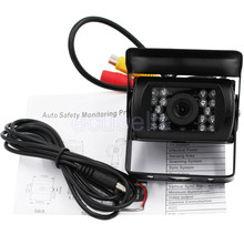 24V Bus Car Rearview 7120T Camera Reverse Backup Camera Auto Parking 170 Degree 18 IR Nightvision Waterproof Bus Truck Camera(China)