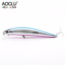 AOCLU wobblers Super Quality 5 Colors 11cm 23g Hard Bait Minnow Crank Fishing lures Bass Fresh Salt water 4# VMC hooks(China)