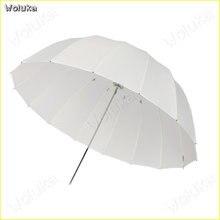 85CM deep-mouth Soft umbrella high-quality translucent reflective parabolic soft umbrella 16-pole fiber umbrella bone CD50 T02(China)