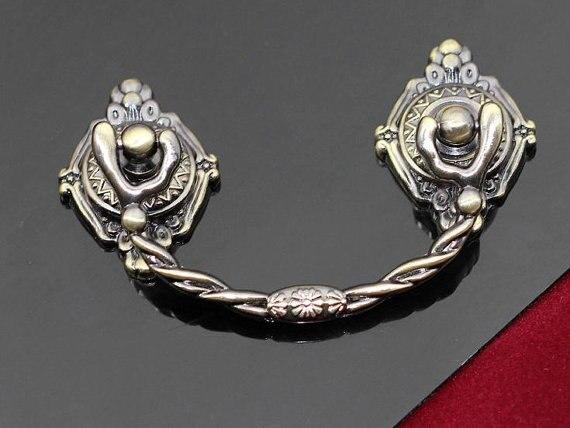 Dresser Pulls Drawer Pull Handles Knobs Cabinet Handle Knob Antique Bronze Cupboard Bail Pulls Handles Decorative Hardware<br><br>Aliexpress