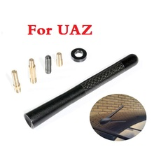 Buy 4.72inch Carbon Fiber Short Car Roof Radio Aerial FM Antenna UAZ 31512 3153 3159 3162 Simbir 469 Hunter Patriot for $5.20 in AliExpress store