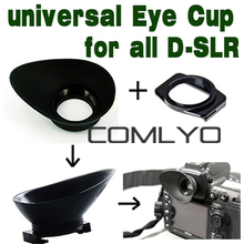 Free Shipping Universal Rubber Camera Eye Cup EyePiece Adapter Eyecup Size for canon Nikon Sony Pentax Olympus professional