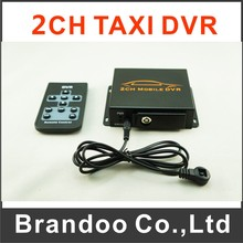 Simple 2CH Car DVR  Taxi Bus Truck Vehicle DVR Cheap MDVR