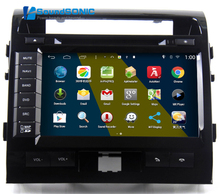 Android 4.4.4 For Toyota LandCruiser Land Cruiser 200 LC200 Auto Car Radio Stereo DVD GPS Navigation Sat Navi Multimedia System