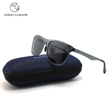 Chasing Brand best sunglasses for Man Black frame polarized gray lens Driving sunglasses for man sunglass LM9432