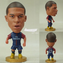 "Football star Soccer Player Star 29# MBAPPE (PSG-2018) 2.5"" Toy Doll Figure New style(China)"