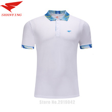 men wear sport shirts training golf clothes Badminton Polo Shirts Team Table Tennis Shirts quick dry breathable badminton jersey(China)