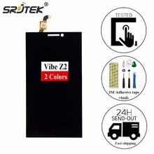srjtek For Lenovo Vibe Z2 LCD Display Touch Screen Digitizer Assembly K920 mini Replacement Parts +Free tools