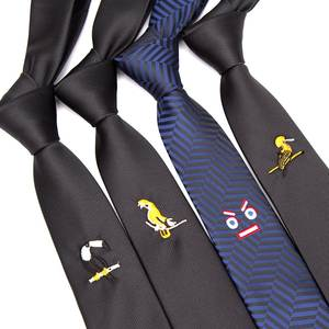 Men Tie Black Fashio...