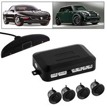 1Set 4 Parking Sensors LED Display Car Backup Reverse Radar Rearview Mirror Colored LED Display High Quanlity Parking Sensors