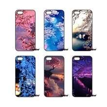 Pink sakura Flower Japan Cherry blossoms Phone Case For iPhone 4 4S 5 5C SE 6 6S 7 Plus Samsung Galaxy Grand Core Prime Alpha