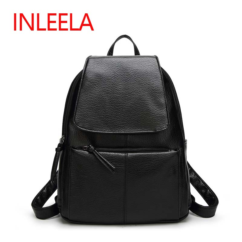 Inleela Most Cost-effective Backpack New Arrival Vintage Women Shoulder Bag Girls Fashion Schoolbag High Quality Women Bag<br><br>Aliexpress
