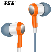 Ipsdi HF256 Stereo Bass 3.5mm in-ear Earphone for Computer IOS Android Mobilephone MP3 Player nature rhyme Portabe free shipping