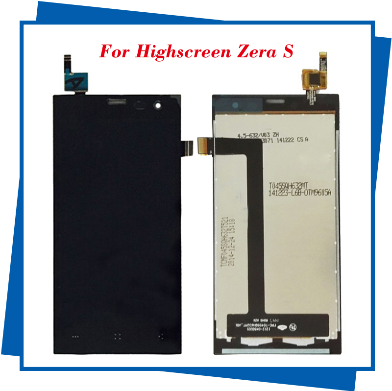 5pcs/lot For Highscreen Zera S Rev.S LCD Touch Screen Dispaly Touch Screen Digitizer Assembly Free Shipping<br><br>Aliexpress