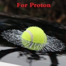 Funny 3D Tennis Ball Hits Decals Car Body Stickers Styling for Proton Gen-2 Inspira Perdana Persona Preve Saga Satria Waja