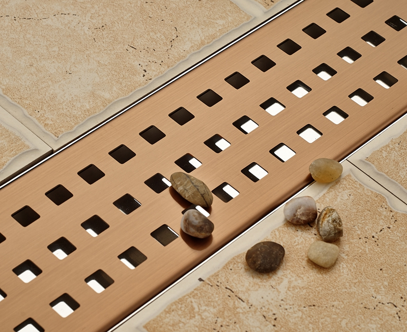 New Rose Gold Stainless Steel Bathroom Kitchen Shower Floor Drain Ground Leakage<br><br>Aliexpress