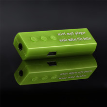 Best Gift USB Clip Digital Mp3 Music Player Support SD TF Card GD Free Shipping&Wholesales NOA28