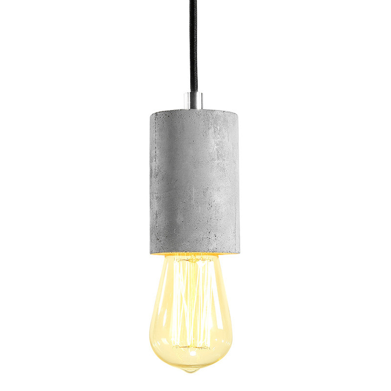 LED Vintage American Country Style Cement Pendant Light E27 Indoor Restaurant Bar Personality Decoration Light Touw Lamp<br>