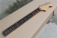 Factory Wholesale 22 Frets Rosewood Fretboard Electric Guitar Neck with Machine Head,Scalloped Fingerboard,Offer Customized