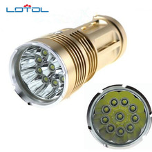 LED Flashlight  20000 lumens light King 3/6/9/12 T6 LED flashlamp CREE XM-L T6 Torch Lamp Light For Hunting Camping