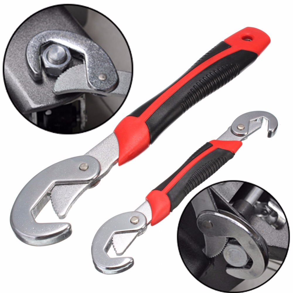 2017 2PC Multi-Function Universal Wrench Set Snap and Grip Wrench Set 9-32MM For Nuts and Bolts of All Shapes and Sizes