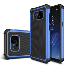 For Samsung Galaxy S8 Plus Football Armor Case Hard Tough PC + TPU Cover for galaxy S6 S6edge S7 S7edge Phone case Anti knock