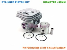 Cylinder Piston Kit for Husqvarna 365 372XP X-Torq  Gasoline Chainsaw 2 Stroke Engine Garden Tools Spare Parts