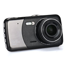 4 Inch Car DVR Camera HD 1080P Vehicle Video Recoder Dash Cam G-Sensor Cycle Recording(China)