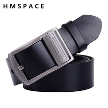 Brand Designer Belts Men High Quality Men's Belts Luxury Pin Buckle Leather Belts For Men Business Boss Cinturones Hombre