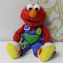 1pcs 40cm Sesame Street Red Elmo Plush Stuffed Toy Girls Toys Boys Doll Kids Gifts Soft Toys For Children Pelucia spielzeug(China)