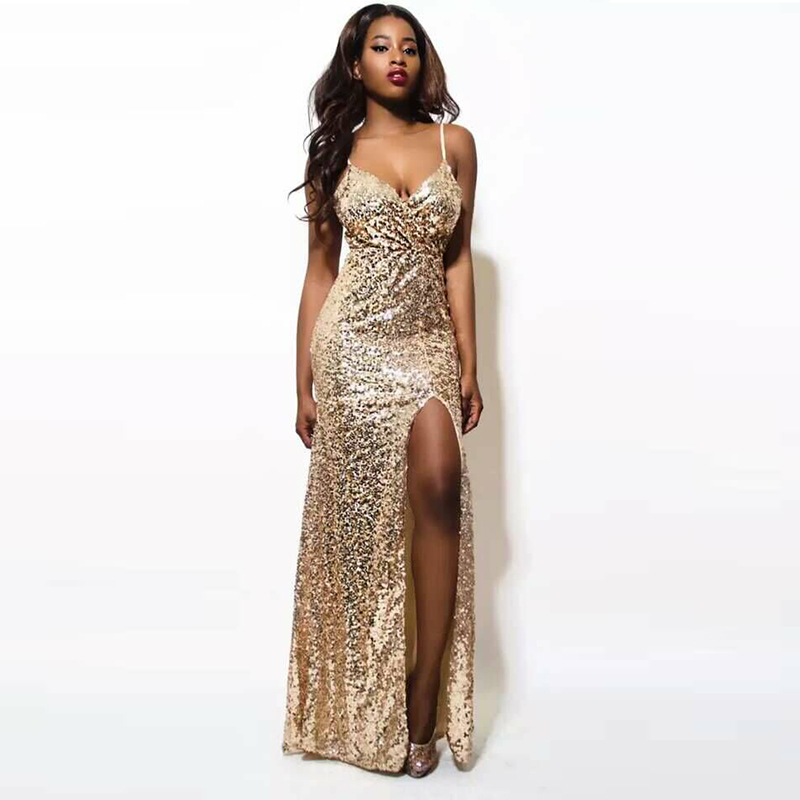 Compare Prices on Long Sequins Dress- Online Shopping/Buy Low ...