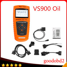 VGATE VS900 tool Oil / Service and Airbag Reset Tool vgate scanner tools  reset Oil Inspection Light  Resets airbags