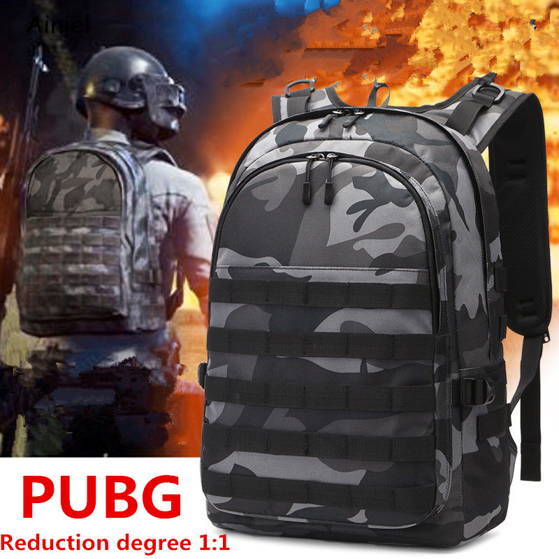 Game Playerunknown's Battlegrounds PUBG Cosplay Level 3 Instructor Backpack Outdoor Multi-functional Large Capacity Schoolbag