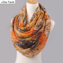 Winter Scarves Wrap Geometric Mixed Color Pattern Voile Shawl Scarf Women Scarves And Stoles Poncho Feminino #1025