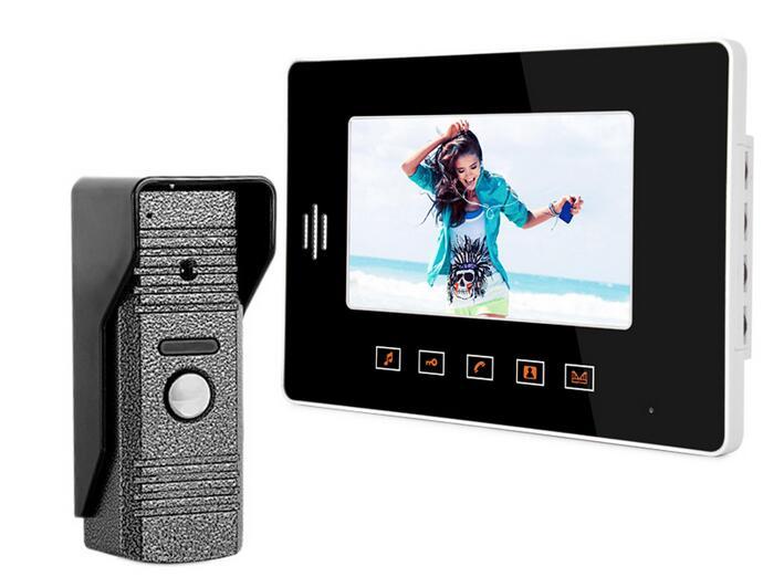 freeship 7 Home Security Doorbell Intercom system Video Doorbell Door Phone Night Vision Eye Camera Doorphone <br><br>Aliexpress