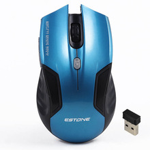 2016 Best 2.4Ghz 2400DPI USB Mini Portable Wireless Gaming Mouse Mice Optical Gamer Mouse for PC Laptop Desktop Notebook MAC