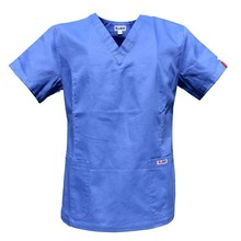 2014 women's hospital medical scrub clothes uniform set doctor 's surgical clothing for female short sleeve medical clothing(China)