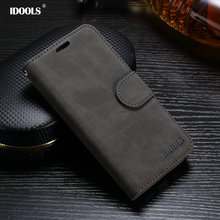 IDOOLS Case for Xiaomi Redmi Note 4 Pro Prime PU Leather Cover 5.5 Mobile Phone Accessories Phone Bags Cases for Redmi Note 4(China)
