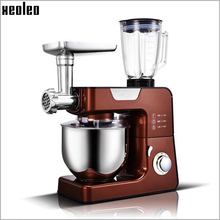 Xeoleo 5.5L Stand mixer 1000W Multifunction Food mixer Dough knead machine Food blender Meat grinder Juicer machine Sausage fill