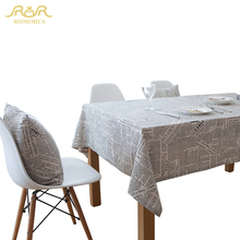 2017 Hot Tablecloth 100% Polyester Lace Newspaper Table Cloth for Decoration Party Home Table Linen Cloth Cover Textile 271455(China)