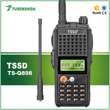 Free Shipping VHF 136-174MHZ Ultra-High Power 10W MAX Walkie Talkie TS-Q898 with High Capacity Battery