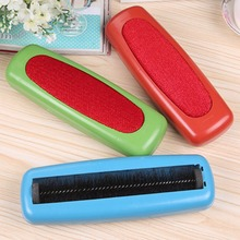 1PCS High Quality Plastic Sweeper Carpet Table Single Brush Dirt Crumb Collector Cleaner Roller New Arrival Random Color(China)